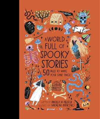 Cover for A World Full of Spooky Stories by Angela Mcallister