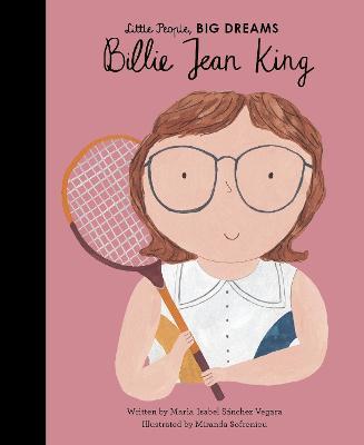 Cover for Billie Jean King by Maria Isabel Sanchez Vegara