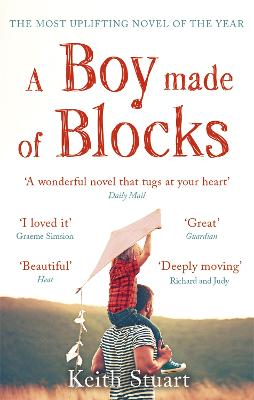 Cover for A Boy Made of Blocks by Keith Stuart