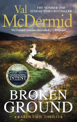 Cover for Broken Ground by Val McDermid