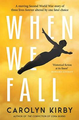 Cover for When We Fall by Carolyn Kirby