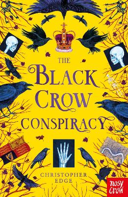 Cover for The Black Crow Conspiracy by Christopher Edge