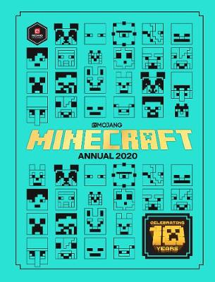 Cover for Minecraft Annual 2020 by Mojang AB