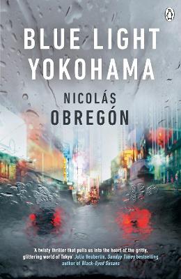 Cover for Blue Light Yokohama by Nicolas Obregon