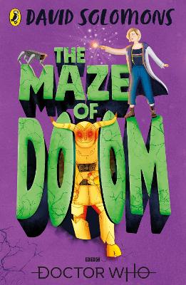 Cover for Doctor Who: The Maze of Doom by David Solomons