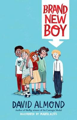 Cover for Brand New Boy by David Almond