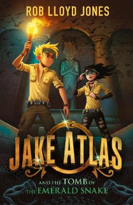 Cover for Jake Atlas and the Tomb of the Emerald Snake by Rob Lloyd Jones