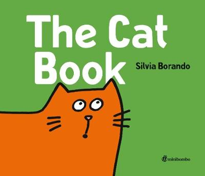 Cover for The Cat Book by Silvia Borando