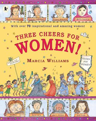 Book Cover for Three Cheers for Women! by Marcia Williams