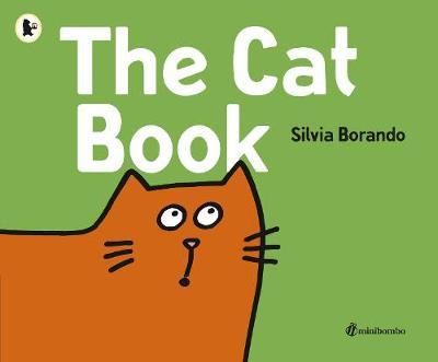 Cover for The Cat Book a minibombo book by Silvia Borando