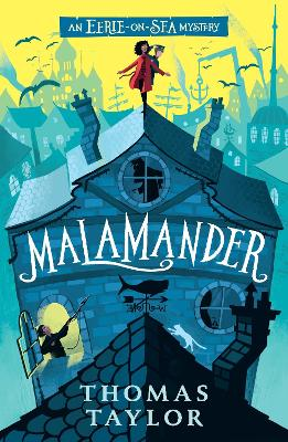 Cover for Malamander by Thomas Taylor