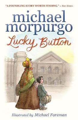 Cover for Lucky Button by Michael Morpurgo