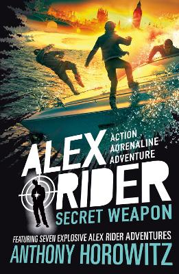 Cover for Secret Weapon by Anthony Horowitz