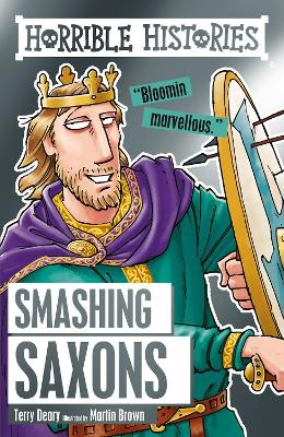 Book Cover for Smashing Saxons by Terry Deary