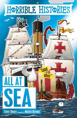 Cover for All at Sea by Terry Deary