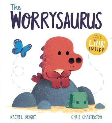 Cover for The Worrysaurus by Rachel Bright