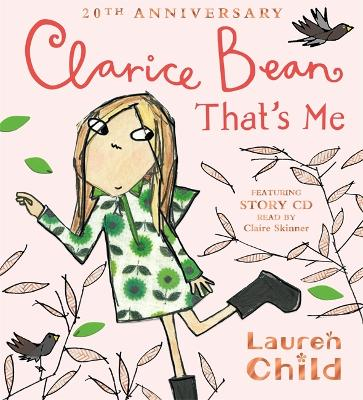 Cover for Clarice Bean, That's Me by Lauren Child