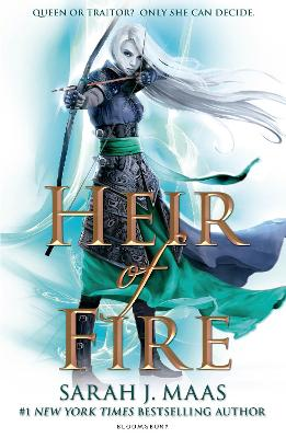 Book Cover for Heir of Fire by Sarah J. Maas