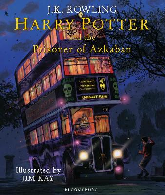 Book Cover for Harry Potter and the Prisoner of Azkaban by J. K. Rowling