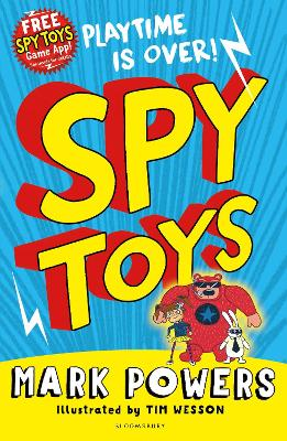 Cover for Spy Toys by Mark Powers