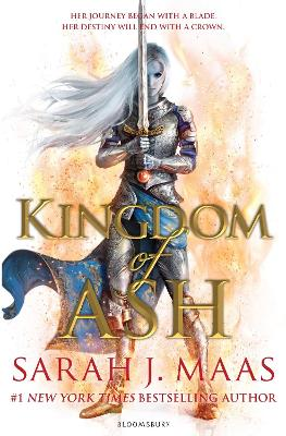 Cover for Kingdom of Ash by Sarah J. Maas