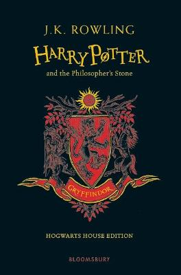 Book Cover for Harry Potter and the Philosopher's Stone - Gryffindor Edition by J. K. Rowling