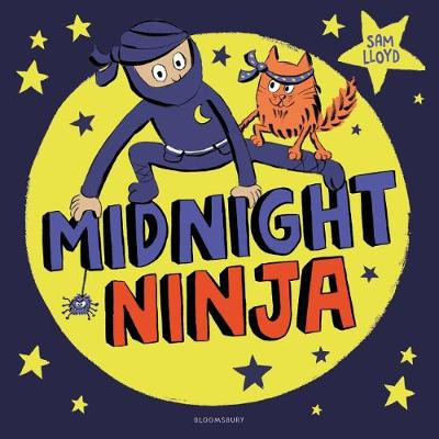 Cover for Midnight Ninja by Sam Lloyd