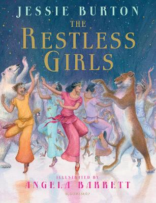 Cover for The Restless Girls by Jessie Burton