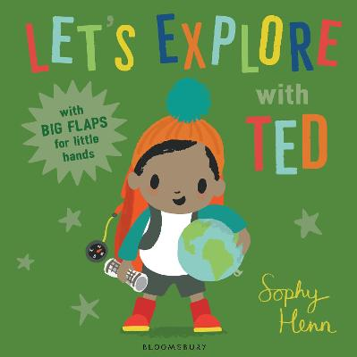 Cover for Let's Explore with Ted by Sophy Henn