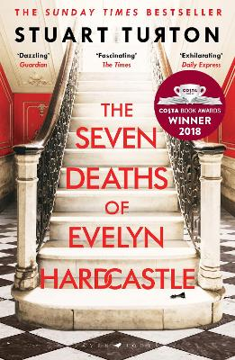 Cover for The Seven Deaths of Evelyn Hardcastle by Stuart Turton