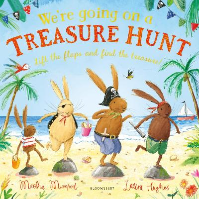 Cover for We're Going on a Treasure Hunt by Martha Mumford