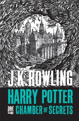 Cover for Harry Potter and the Chamber of Secrets by J.K. Rowling