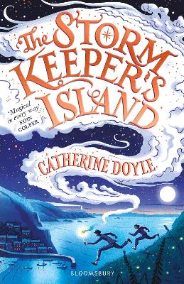 Cover for The Storm Keeper's Island by Catherine Doyle