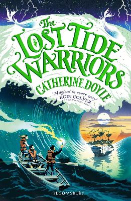Cover for The Lost Tide Warriors by Catherine Doyle