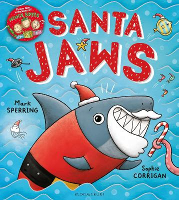 Cover for Santa Jaws by Mark Sperring