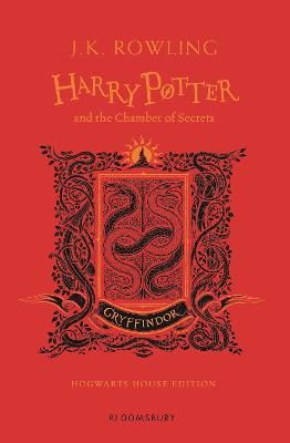 Cover for Harry Potter and the Chamber of Secrets - Gryffindor Edition by J.K. Rowling