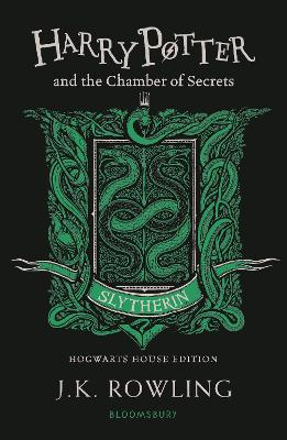 Cover for Harry Potter and the Chamber of Secrets - Slytherin Edition by J.K. Rowling