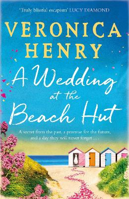 Cover for A Wedding at the Beach Hut by Veronica Henry
