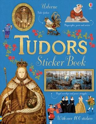 Cover for Tudors Sticker Book by Emily Bone