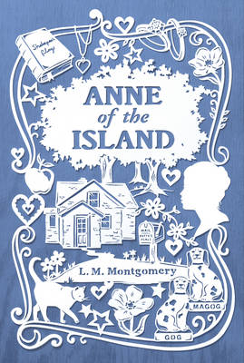 Cover for Anne of the Island by L. M. Montgomery
