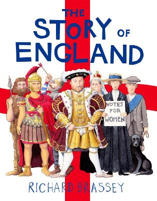 Cover for The Story of England by Richard Brassey