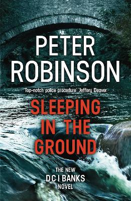 Cover for Sleeping in the Ground DCI Banks 24 by Peter Robinson