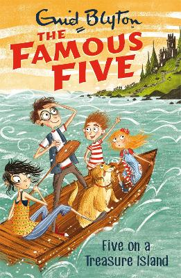 Cover for Famous Five: Five On A Treasure Island Book 1 by Enid Blyton