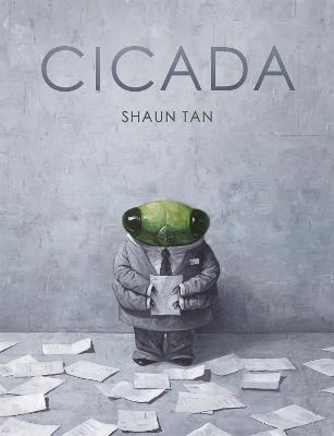 Cover for Cicada by Shaun Tan