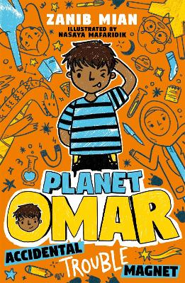 Book Cover for Planet Omar: Accidental Trouble Magnet by Zanib Mian