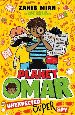 Cover for Planet Omar: Unexpected Super Spy Book 2 by Zanib Mian