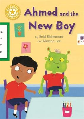 Cover for Reading Champion: Ahmed and the New Boy  by Enid Richemont