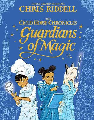 Cover for Guardians of Magic by Chris Riddell
