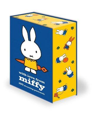 Cover for Miffy Postcard Set by Dick Bruna