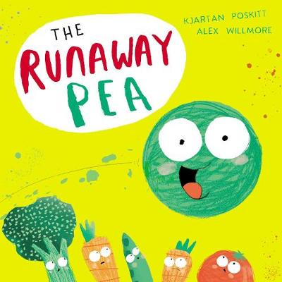 Cover for The Runaway Pea by Kjartan Poskitt
